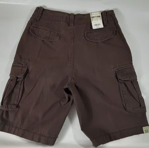 Men's Arizona Jeans Co Brown Cargo Shorts Size 32